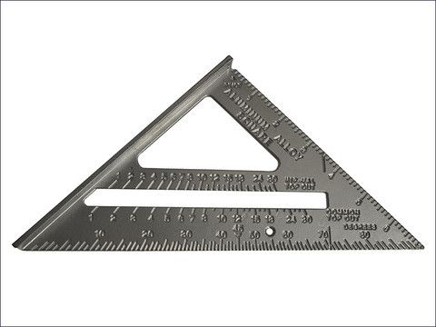 The Faithfull Quick And Easy Aluminium Roofing Square, Also Known As A  Layout Or Angle