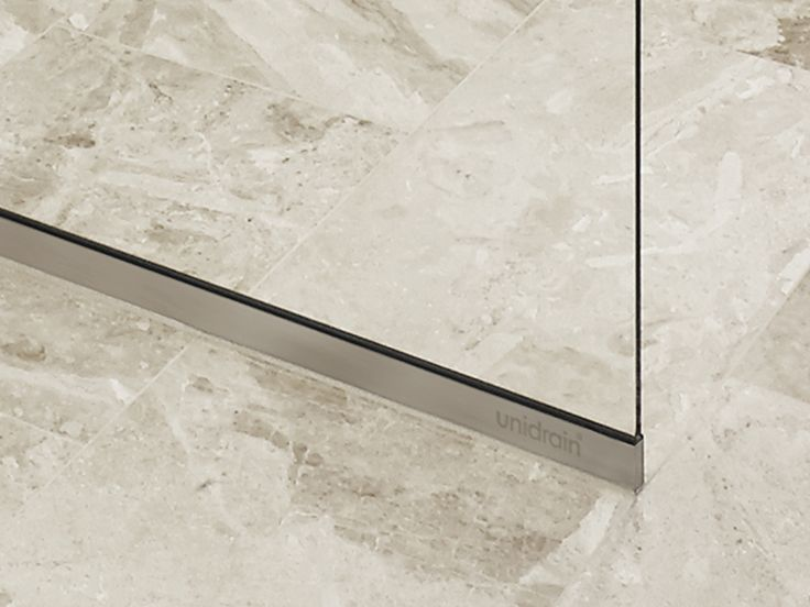Unidrain GlassLine showerwall