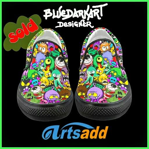 SOLD! #Monsters #Doodles #Characters #Saga #Women's #Canvas #Shoes  #designed by #BluedarkArt  @artsadd.official  Thank You!  http://www.artsadd.com/shop/monsters_doodles_characters_saga_women_s_unusual_slip_on_canvas_shoes_model_019-409352.html   #fun #MonstersDoodles #shopping #cutemonsters #fashion #onlineshop  #funmonsters #4sale #cool #clothing #instafashion #fashioninstagram #design #humor #halloween