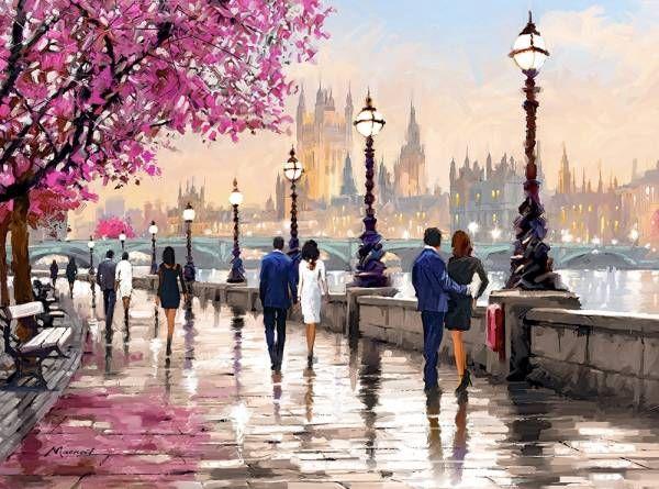 ⭐️️️RICHARD MACNEIL Paseando por París - ⭐️