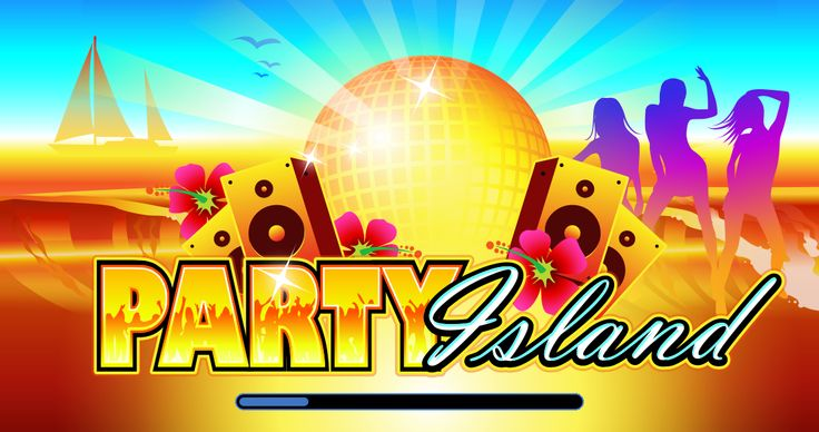 Party Island mobile slot game