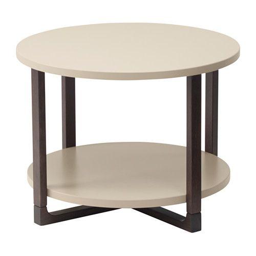 IKEA - RISSNA, Beistelltisch, , Mit praktischer Ablage für Zeitungen usw., dadurch bleibt mehr Platz auf dem Tisch.Beine aus Massivholz, einem robusten Naturmaterial.