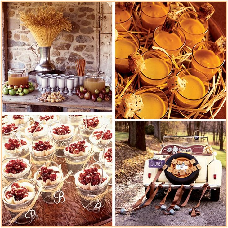 Sign Of The Times Fall Wedding Ideas Like Apples For Decor