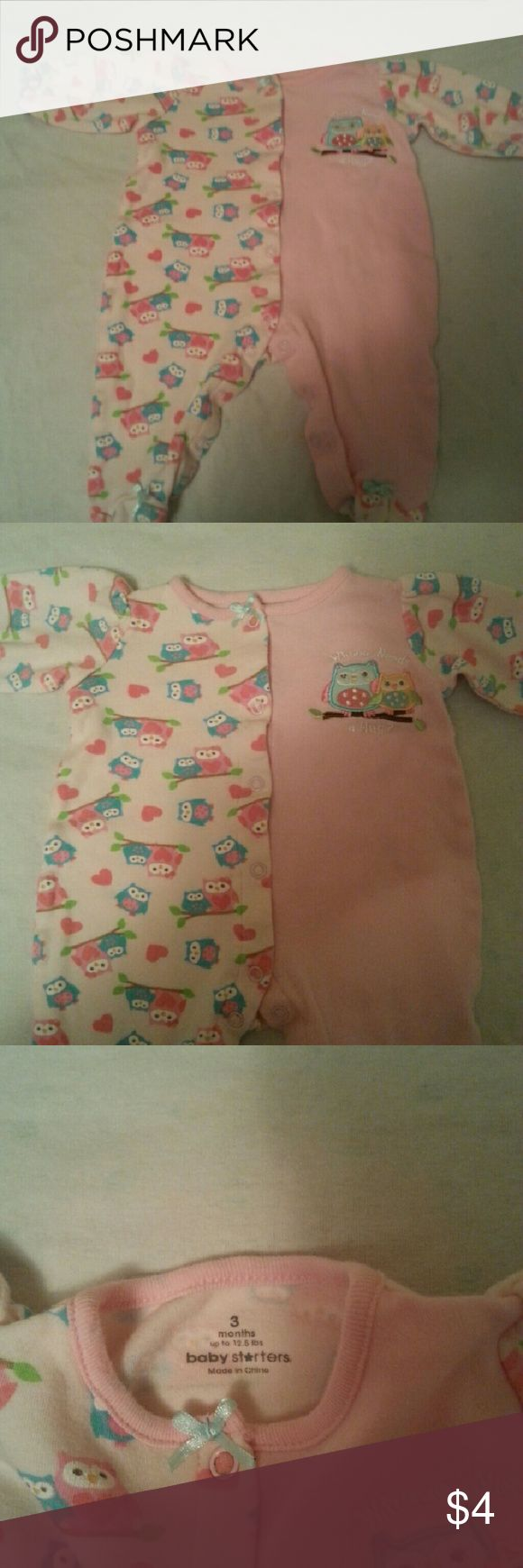 Baby girl clothes Excellent condition Pajamas Pajama Bottoms