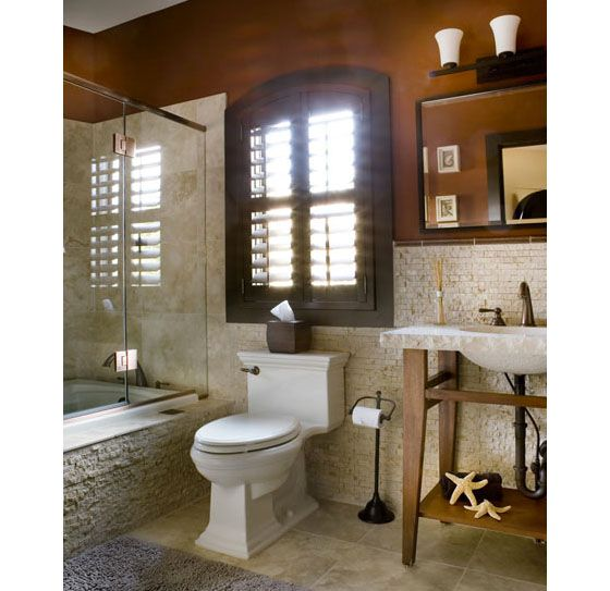 Bathroom Mediterranean Style: Home Is Where The ♥ Is.