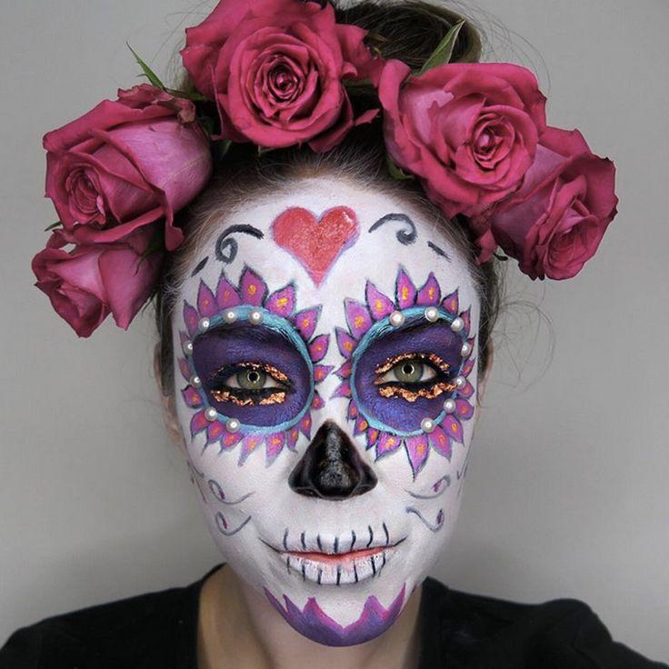 Best 20+ Amazing halloween makeup ideas on Pinterest   Pretty ...