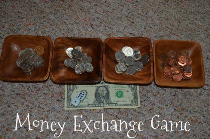 Montessori Money Exchange Game
