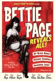 Bettie Page Reveals All Poster