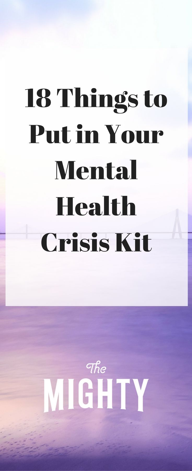 18 Things to Put in Your Mental Health Crisis Kit | The Mighty