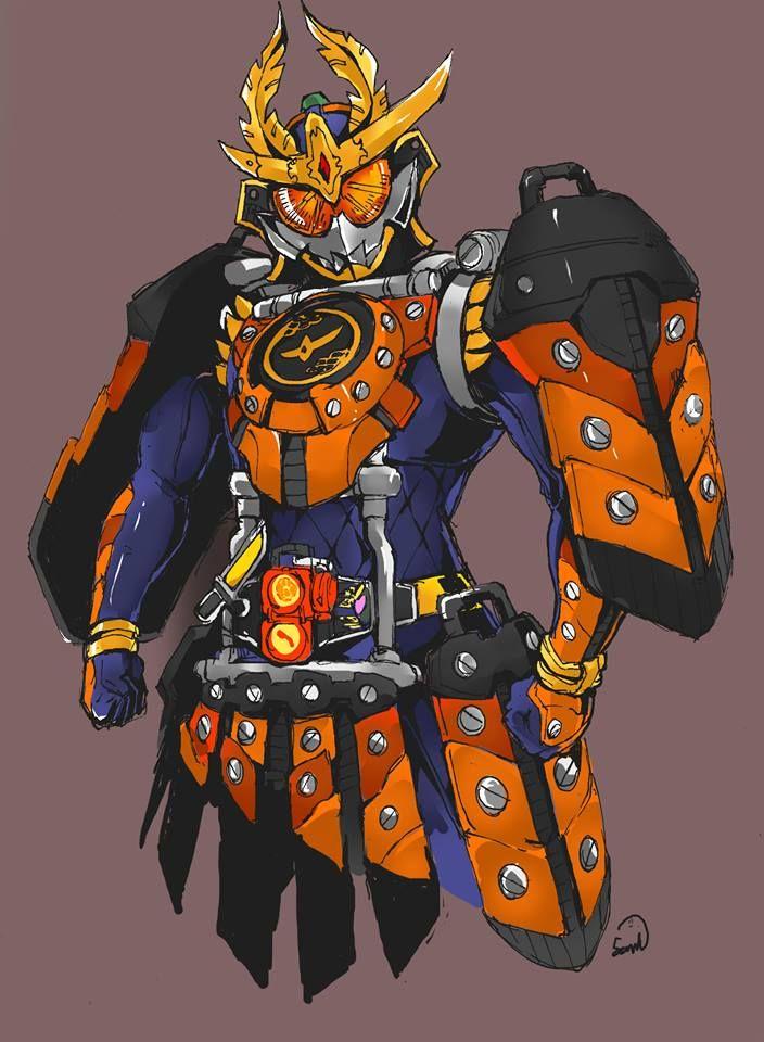 """Soiya! Kachidoki Arms: Iza! Shutsujin! Ei, Ei, Oh!"" Kamen Rider Gaim Kachidoki Arms"