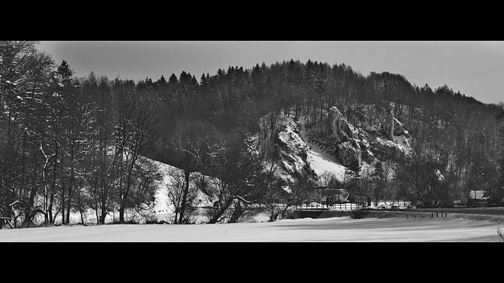 Ojcowski Park Narodowy // Ojców National Park #winter #zima #landscape