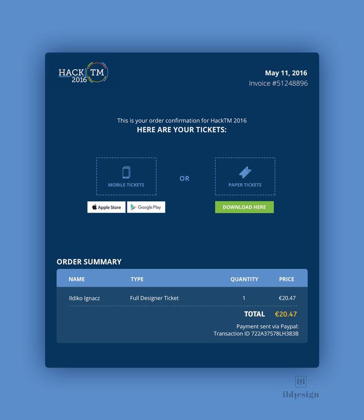 Invoice UI Design