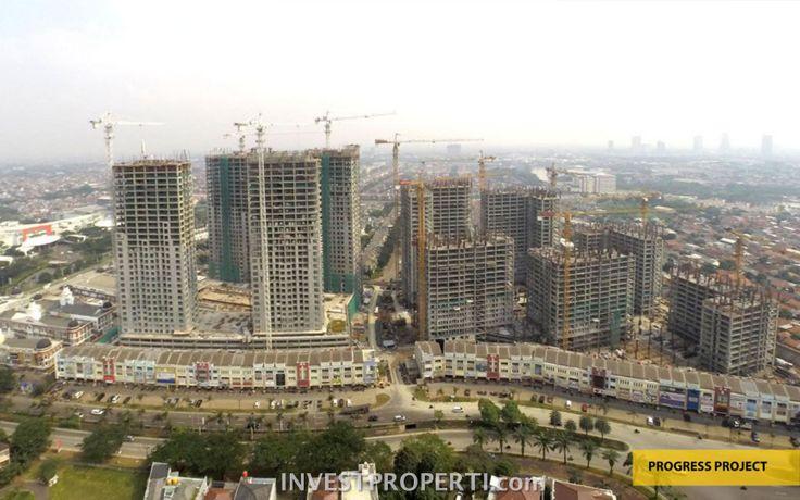 Progress pembangunan apartemen Serpong M-Town