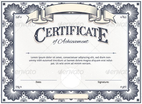 18 best Certificate Templates images on Pinterest Cloud - free blank certificate templates