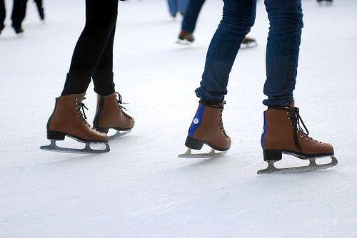 to ice skate in central park