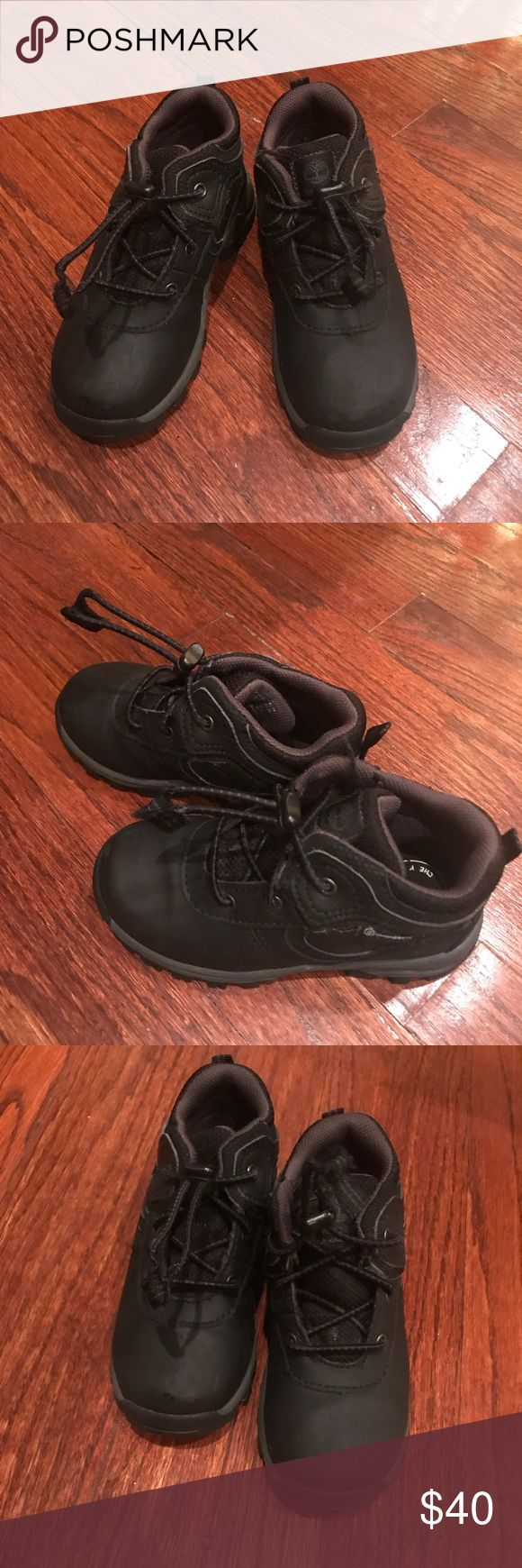 Toddler Boys Timberlands Toddler boys timberland boots. Not used often. Very clean with a very light scuff in the front of one. They are in excellent condition otherwise. Timberland Shoes Boots