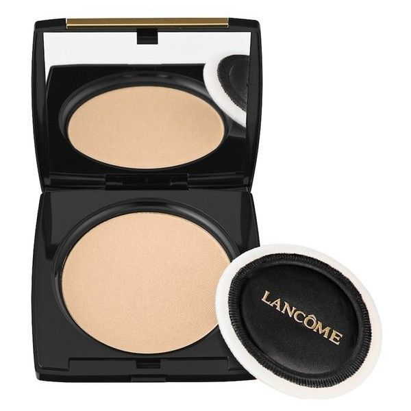 Lancome Dual Finish ($40) ❤ liked on Polyvore featuring beauty products, makeup, face makeup, foundation, beauty, neutral, powder, liquid foundation, pressed powder foundation and lancome foundation