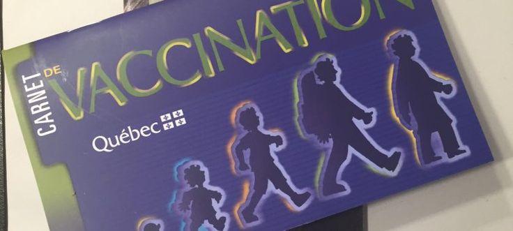 Le calendrier de vaccination et la remise en question