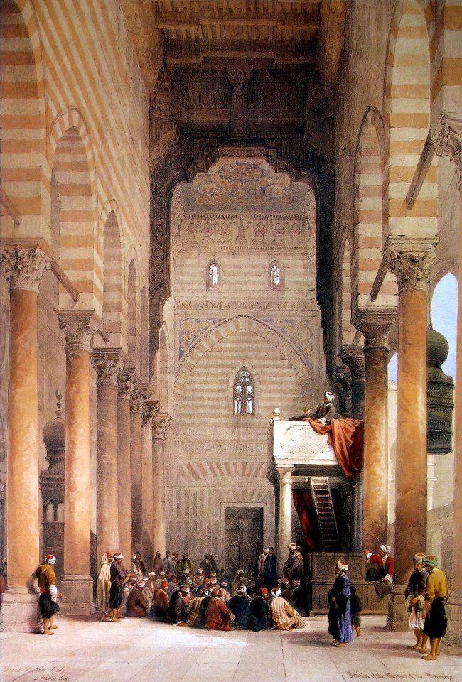 Mosque El Metwalis interior