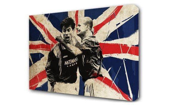 Brian Laudrup & Paul Gascoigne - Rangers, Nine In A Row