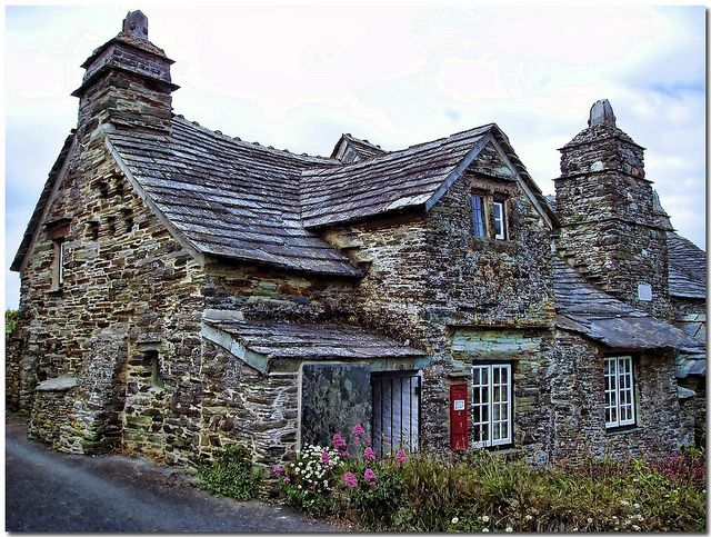 The Old Post Office, Tintagel, Cornwall, England by Antsphoto on Flickr