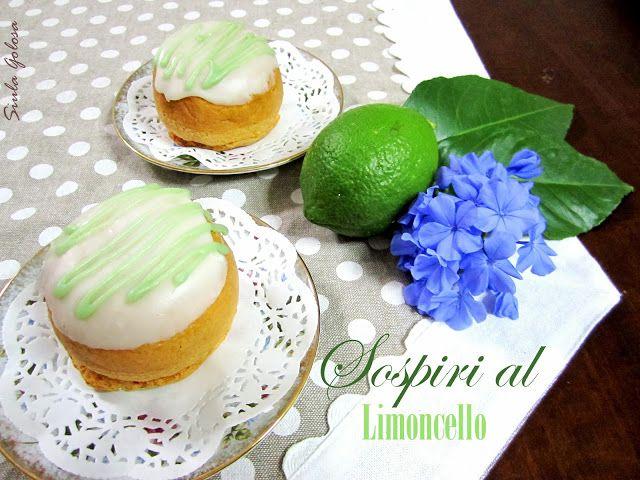 Siula Golosa: Sospiri al limoncello con ricetta zucchero fondente