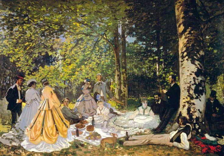 Claude Monet The Picnic 1024x716 Masters of Art: Claude Monet (1840   1926)