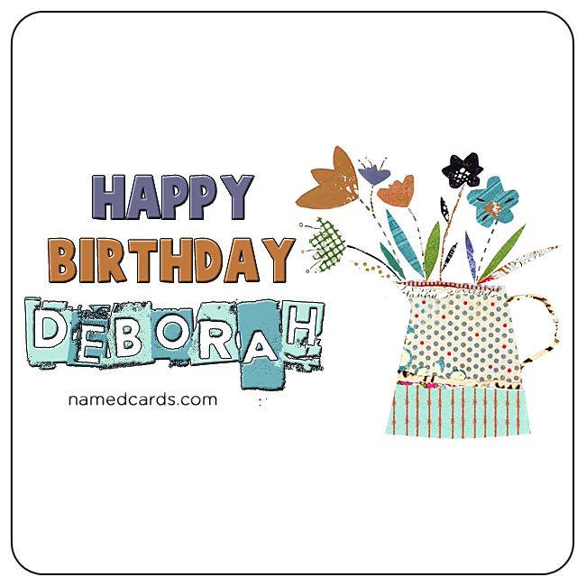 Happy birthday deborah card for facebook namedcards deborah happy birthday deborah card for facebook namedcards deborah happybirthday birthdaywishes bookmarktalkfo Images