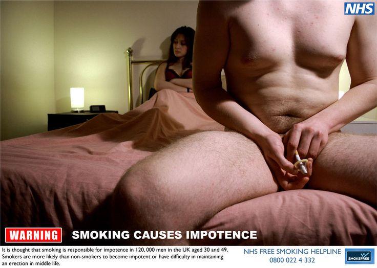 NHS Smoking Impotence