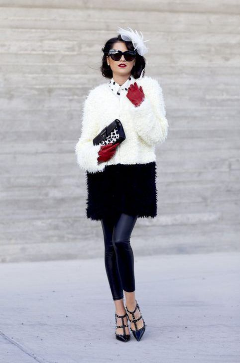 14 best cruella de ville images on pinterest cruella deville costume costumes and halloween ideas. Black Bedroom Furniture Sets. Home Design Ideas