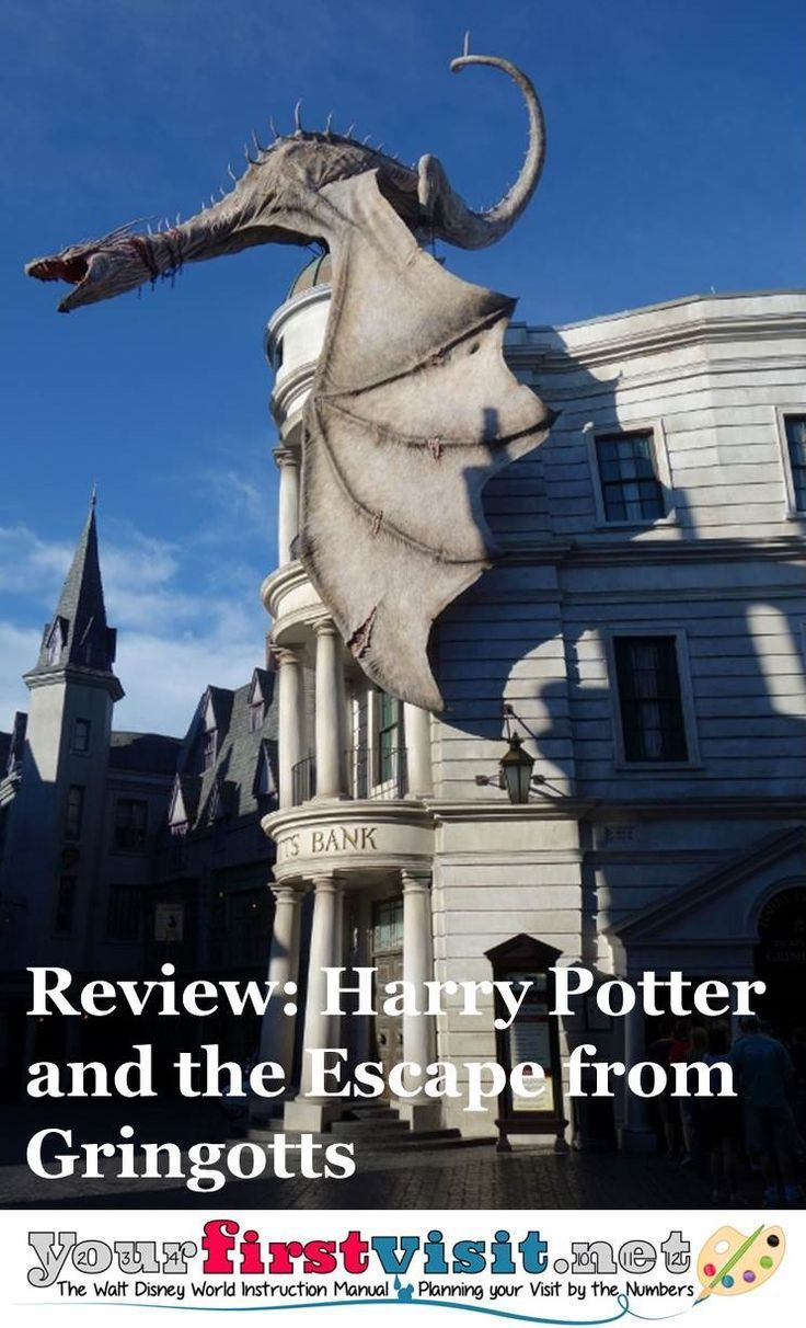 Review Harry Potter And The Escape From Gringotts Yourfirstvisit Net Disney World Deals Wizarding World Of Harry Potter Islands Of Adventure