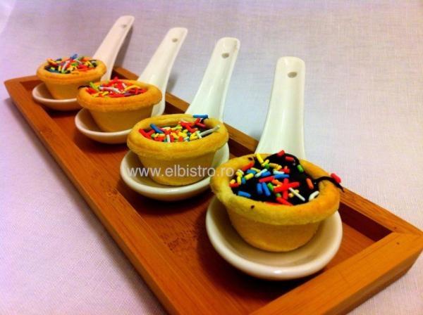 Mini Choco-Tarts - El Bistro homemade.