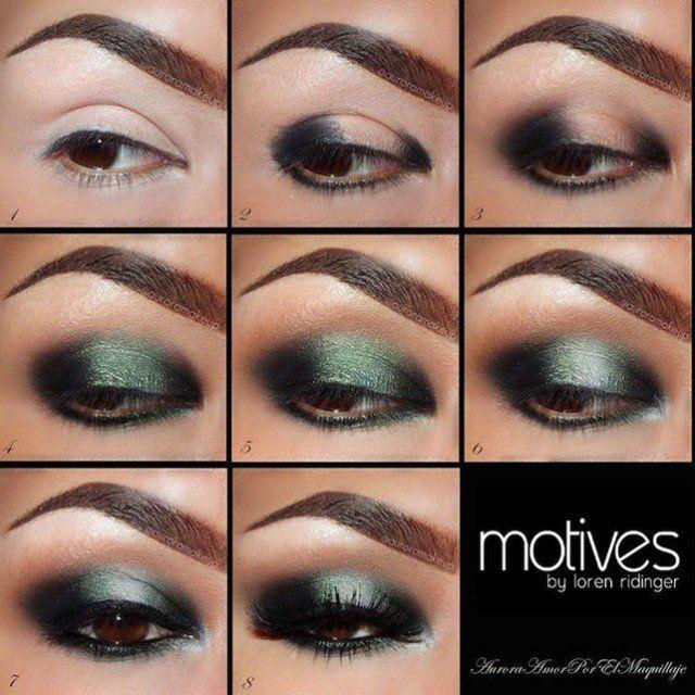 Fotos de moda | Paso a paso para aplicar maquillaje de ojo | http://fotos.soymoda.net