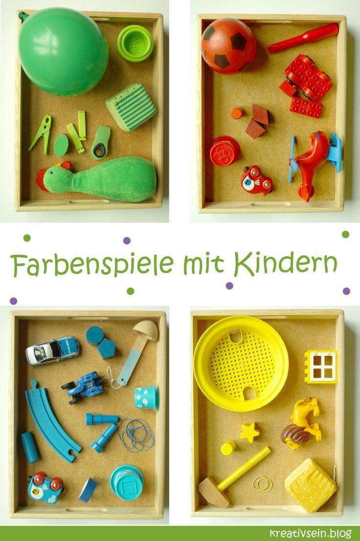 farben kennenlernen kindergarten