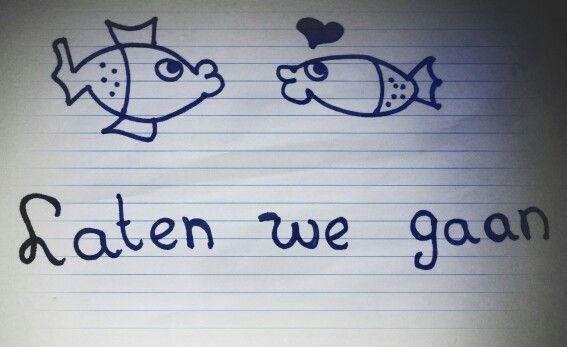 Laten we gaan dan jij en ik