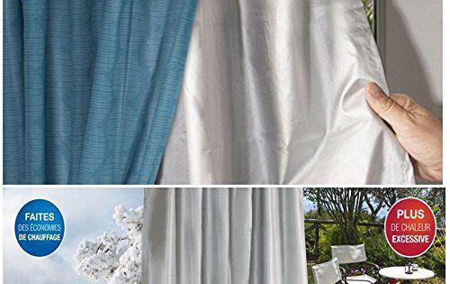 ProBache – Rideau thermique isolant anti froid pour fenêtre: Véritable barrière thermique, ce rideau 100% polyester 190 T vous isole à la…