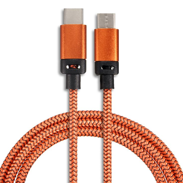 1M/3.3FT USB 3.1 Type C Male To Male Braided Data Sync Charger Cable