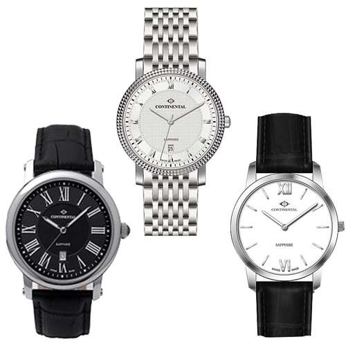 STEIGENS give an imaginative blend of materials to arrange Continental Watch for Corporate and Promotional Gifts. These Continental watch highlights stainless steel and leather strap to fit in your grasp with extravagance look. We tweak these territory watches for Business Gifts to pass on all the all the more empowering new styles to watch with custom Company logo on watch to propel your Organization.