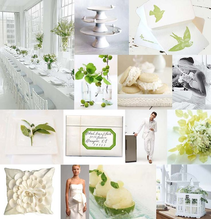 17 Best Ideas About Green Wedding Themes On Pinterest