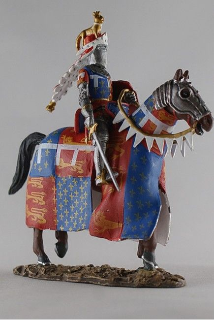 Эдуард Чёрный Принц 14 век Del Prado Средневековье №16