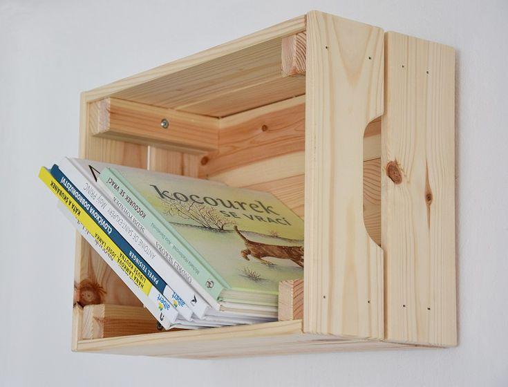 DIY Ikea hack polička na zeď na blogu o bydlení tamarki.cz