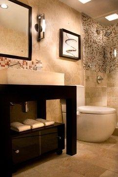 toilet, tile flooring layout