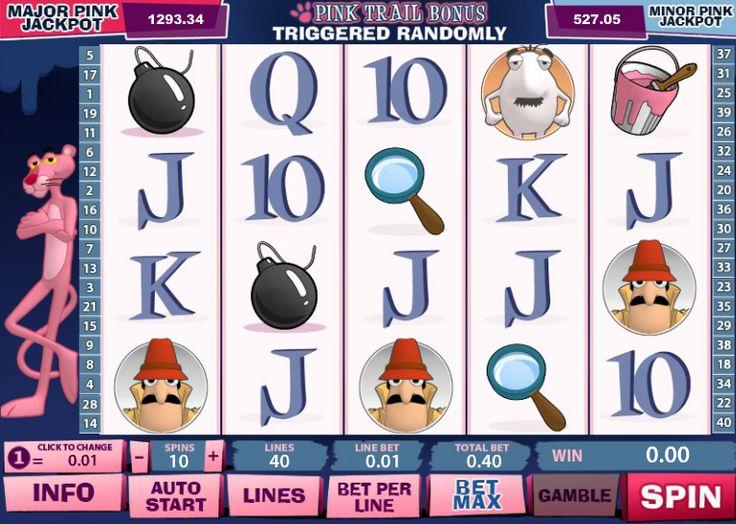 Игровой автомат Розовая Пантера - играть бесплатно