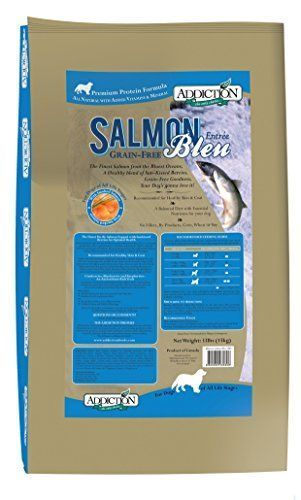 Addiction Salmon Bleu Grain Free Dry Dog Food, 33 lb. -- More details can be found by clicking on the image. #DogFood