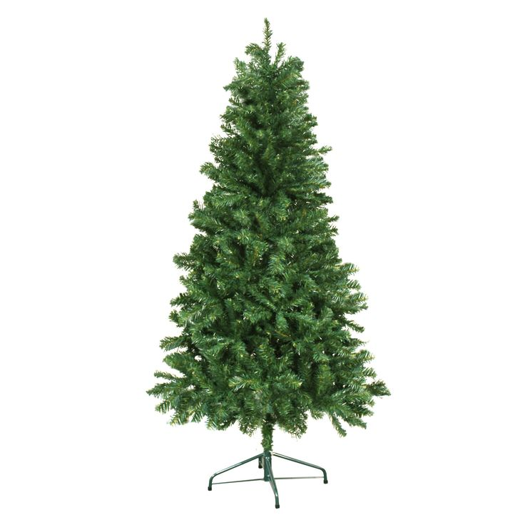6' Green Douglas Fir Artificial Christmas Tree with Stand