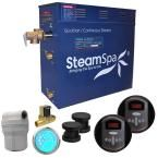 SteamSpa Royal 12kW QuickStart Steam Bath Generator Package with Built-In Auto Drain in Oil Rubbed Bronze