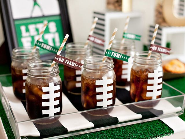 Score big with your guests with the help of these ideas.