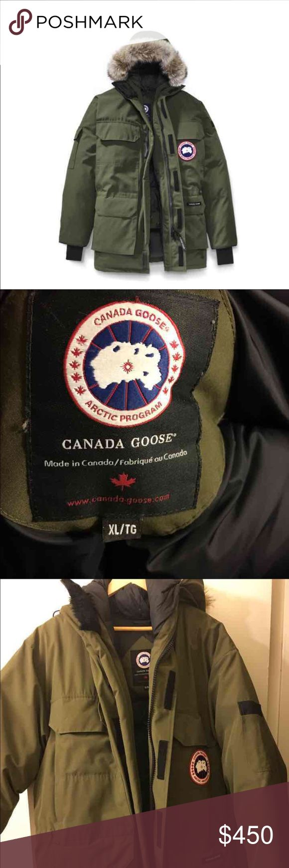 MENS NWOT CANADA GOOSE New! Worn for a week!! This is COAT that retails over $1000 ! It's a level 6 and is a steal Canada Goose Jackets & Coats Puffers