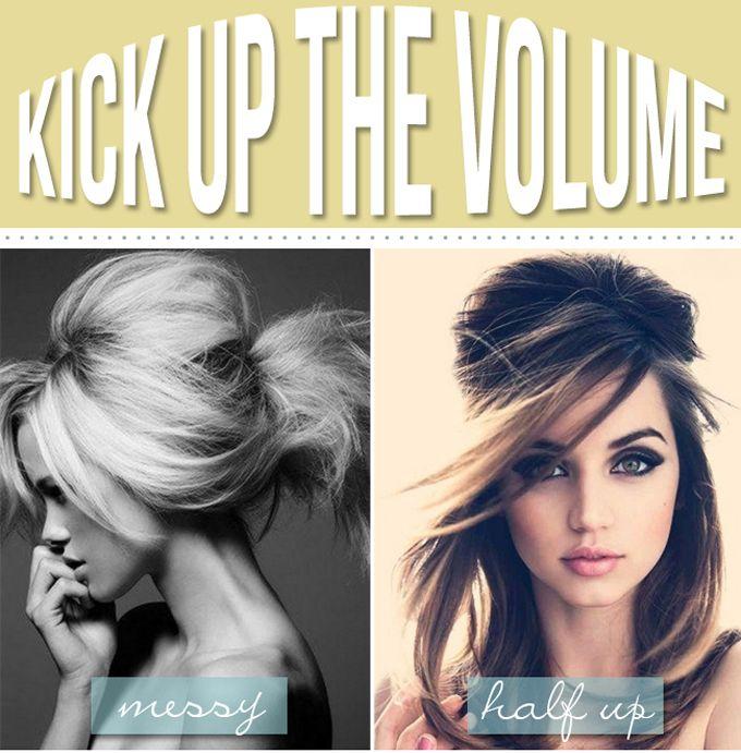 Big Hair tutorials---    Big hair making a comeback!   Whoop whoop