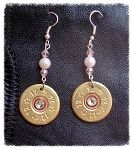 12 Gauge Drop earrings at Oh Shoot!!: Shoots Jewelry, Gauges Earrings, Drop Earrings, 12 Gauges, Gauges Drop, Beads Colors, 12 00